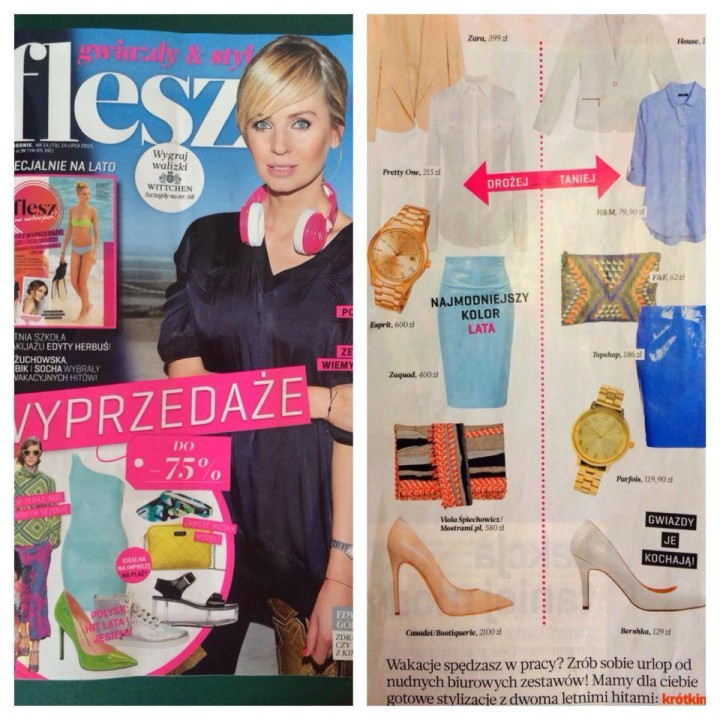 Spódnica naszej marki w magazynie FLESZ!