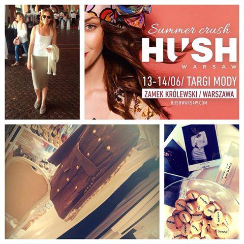 Targi HUSH WARSAW za nami!!! Relacja z tego niesamowitego weekendu wkrótce na blogu!!!