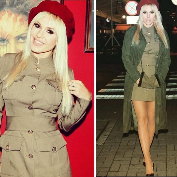 Gwiazdy pokochały nasze militarne ubrania Magdalena Knitter for ZAQUAD!