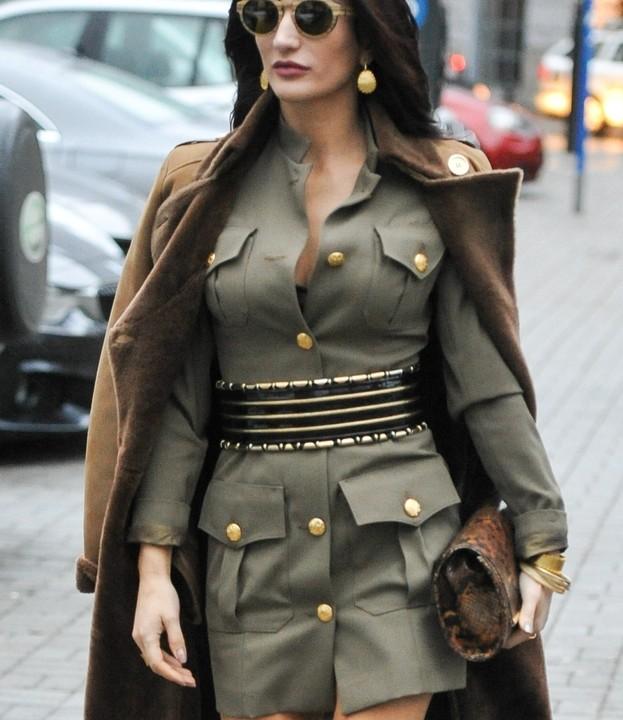 Justyna Steczkowska w sukience militarnej marki ZAQUAD!